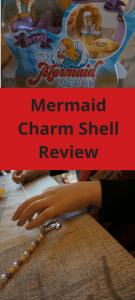 Mermaid Charm Shell Review #mermaid #toys #reviews #parenting #kids #children