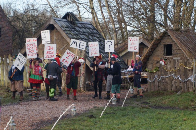 Santa Special at Murton Park elves