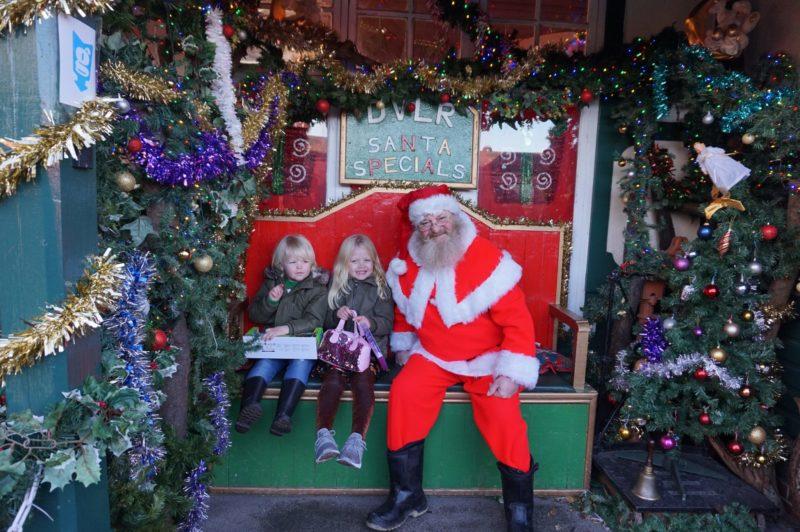 Santa Special at Murton Park photo with santa