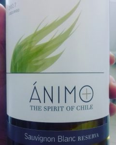 animo sauvignon blanc label