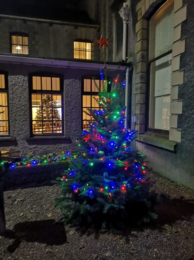 Lotherton Christmas Experience House