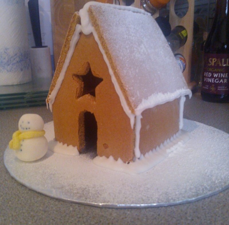 Gingerbread House Recipe Big House
