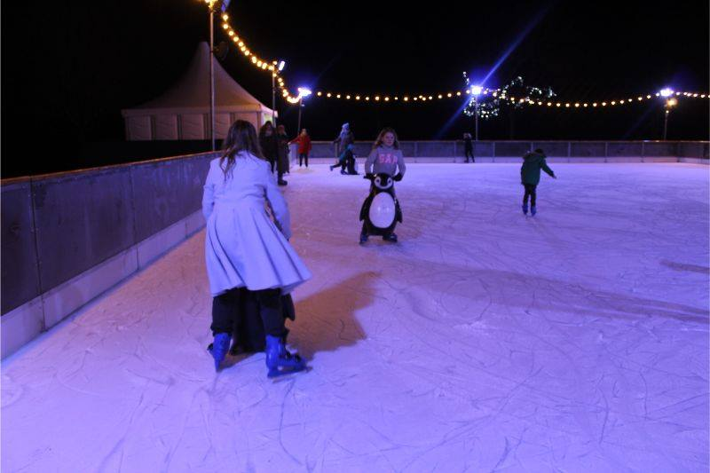 Lotherton Christmas Experience Ice Rink
