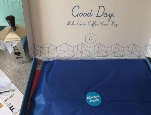 Get your boost with Blue Coffee Box